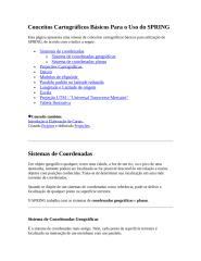Conceitos Cartográficos Básicos Para o Uso do SPRING.doc