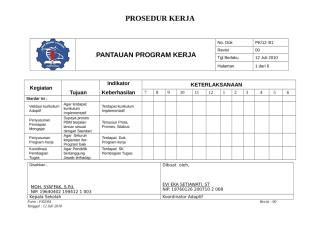 04. FORM PROGRAM KERJA&PANTAUAN MINK.doc