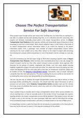 Choose The Perfect Transportation Service For Safe Journey.pdf