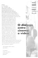 Dialogo entre cinema e video - Arlindo Machado.pdf