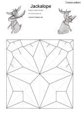 Jackalope - Satoshi Kamiya CP Help  By Origamiml.blogspot.com