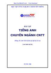 tieng anh chuyen nganh cong nghe thong tin - bai tap - sachmienphi.net.pdf