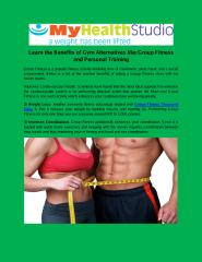 Learn the Benefits of Gym Alternatives like Group Fitness and Personal Training.pdf