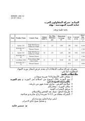 Price Offer - Qt. 167 Jul  2012.doc