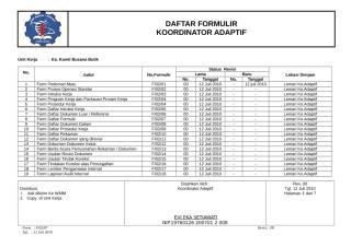 FORM DAFTAR DOKUMEN LUAR.doc