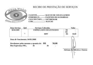 RECIBO DE PRESTAÇÃO DE SERVIÇOS042009.doc