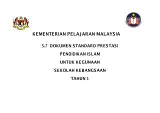 7 - 5.7 standard prestasi pendidikan islam kssr tahun 1.pdf