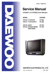 DAEWOO TV chas.CP-385 DTA 2021,DTE-2528.pdf