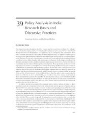 Ch 39 Policy Analysis in India_insert.doc