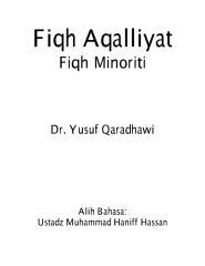 yusuf al qaradhawy - fiqh aqalliyat (minoriti).pdf