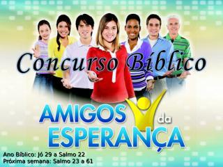 Concurso Bíblico 2011 - 24.ppt